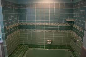 Modern Concept Bathroom Glass Tile Shower Basement Ceramic Subway - Glass tile bathrooms