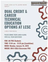 Dual Credit Career Technical Education Options At Lcsc
