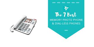 7 best memory photo phones dial less