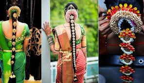 trendy and eye catching poojadai for south indian pretty brides
