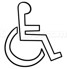 chair drawing easy. how to draw a handicap sign step 6 chair drawing easy