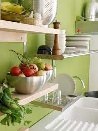 design ideas for kitchen shelving and