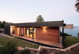 Click to enlarge. Hawk Contemporary Facade. Transportable Builder SA