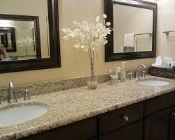 Upstairs Guest Bathroom Giallo Ornamental Granite Wdark Stain Classy Granite Bathroom Designs