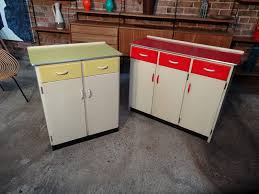 sold two 1950 s kitchen cabinets in mint cond