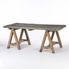 Diy Sawhorse Table Via Cocoonhome For The Home In 2019 Saw Horse