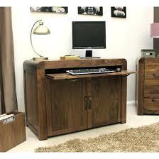 home office desktop 1. Hidden Computer Desk Desks Walnut Home Office Minimal Nz Interque Co Inside Remodel 1 Desktop