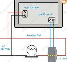 combination volt ammeters it uses direct voltage and a transformer rather than a shunt