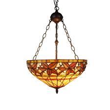 tiffany style pendant light. Aiza 2-light Multicolor 16-inch Leafy Tiffany-style Ceiling Lamp (16-inch Lamp), Green (Glass) Tiffany Style Pendant Light D