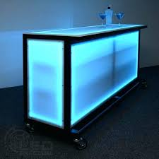 portable bar designs popular bars with regard to led lighted for special events diy pvc pipe bar table on wheels small portable kitchen island unique diy