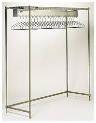Lab Coat Rack Fascinating Eagle Freestanding Garment Rack Electropolished Wth 32 Hanger Slots