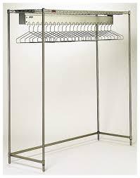 eagle freestanding garment rack electropolished wth 22 hanger slots 2 5