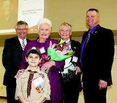 Judge George Pierce receives Boy Scouts honor – Bradford County Telegraph
