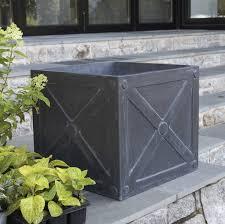 square planter (fibreclay)