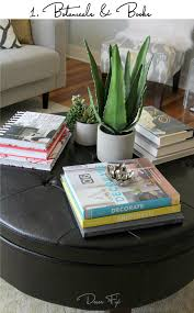 best decorating a round coffee table how to style a round coffee table decor fix