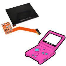 Màn hình LCD kèm cáp flex thay thế cho máy chơi game Game Boy Advance SP