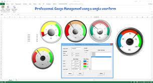 Excel Gauge Chart Template Download Excel Dashboard School Download Free Dashboard Templates