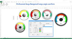 Free Gauge Chart Excel Dashboard School Download Free Dashboard Templates