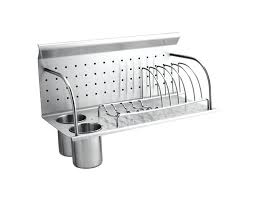 wall mounted wooden dish drying rack k mount does not include brackets