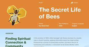 Secret Life Of Bees Quotes Inspiration The Secret Life Of Bees Quotes Course Hero