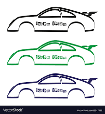 Automotive Body Design Pdf Car Body Silhouette For Your Commercial Use Eps10