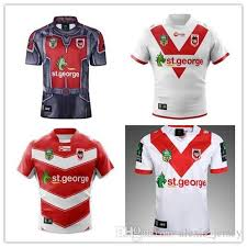 st george home and away illawarra dragons alternate 18 19 nrl national rugby league nrl jersey shirt s 3xl st george rugby jersey st george rugby jersey
