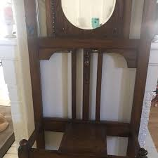 Antique Coat Rack For Sale Interesting Best Antique Coat Rack With Mirror And Wood Detailing With A Shelf