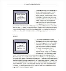 28 Biography Templates Doc Pdf Excel Free Premium