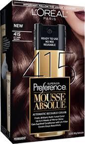 Mousse Absolue By Loreal Paris 415 Icy Dark Brown Hair