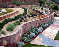 Small Picture 79 ideas to build a retaining wall in the garden slope