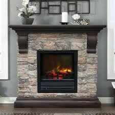 electric fireplace with stone paramount kit faux stone electric fireplace electric stone fireplace tv stand