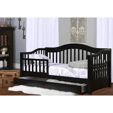 Dream on Me Toddler Day Bed with Storage Black Walmart