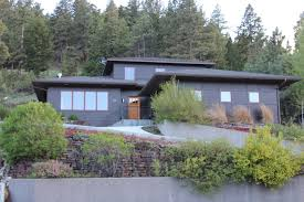 bright open floor plan with clean lines and incredible mountain views concrete and bamboo radiant heated floors quartz countertops