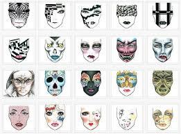 Mac Cosmetics Halloween Face Charts Halloween 2009 Face Charts By Mac Cosmetics Makeup4all
