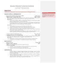 Teacher Job Description Resume Best Of JET ALT Resume Pdf