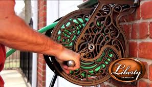 liberty garden model 704 705 decorative wall mounted hose reels you