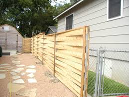 Build Horizontal Wooden Fence Design Idea And Decorations How to