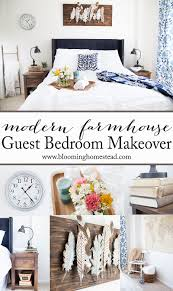 Modern Farmhouse Bedroom Modern Farmhouse Guest Bedroom Makeover Blooming Homestead