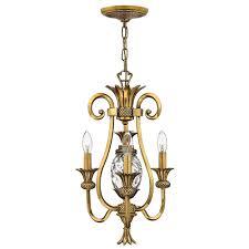 plantation 3 light mini chandelier by hinkley lighting image 2