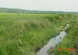 drainage ditch soil drainage