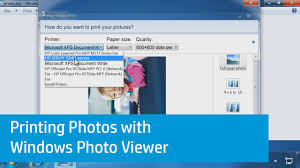 printing text printing photos with windows photo viewer youtube