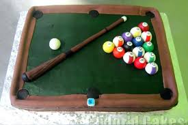 pool table birthday cake ideas billiards and designs ca pool table cake