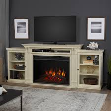 entertainment center grand entertainment center electric fireplace in black by real flame white modern centers large