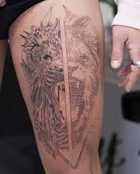 Ascii татуировки талантливого кипрского художника андреаса вронтиса