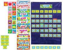 Carson Dellosa Deluxe Scheduling Pocket Chart Carson Dellosa Pocket Chart Searchub