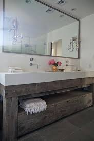 salvaged sink salvaged wood washstand transitional bathroom design reclaimed wood double vanity home design ideas salvaged farmhouse sinks for