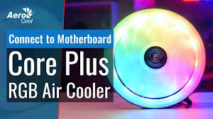 <b>AeroCool</b> Core Plus Air <b>Cooler</b> - How to Connect to Your Motherboard