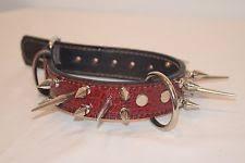 gucci dog collar. red croc print premium leather dog collar 1.5 inches wide gucci