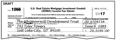 Irs Complaint Form Awesome 44442144 Form 44 US Real Estate Mortgage Investment Conduit