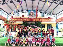 Các bé trường mầm non Thanh Trì vui đón Tết Trung thu